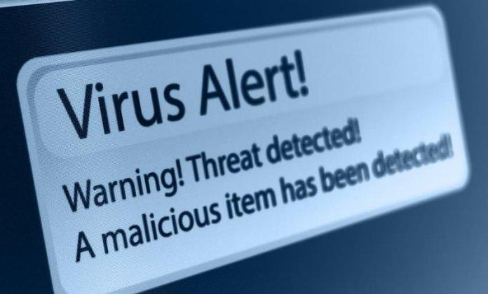 antivirus warning
