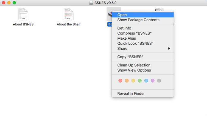 How to open a Mac app from an unidentified developer: Shortcut