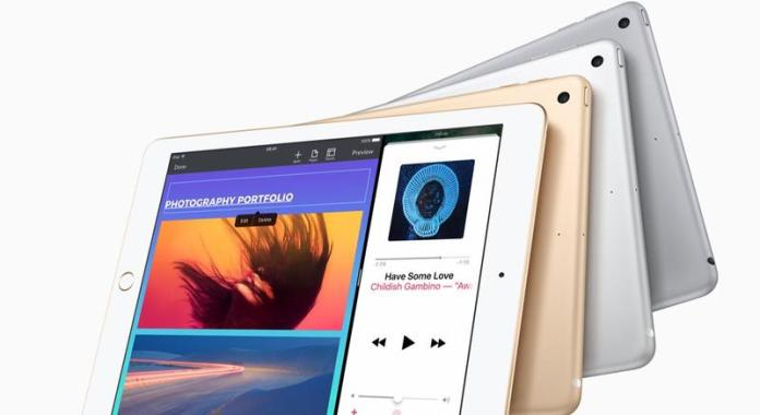 New iPad 2017 review: Colour options