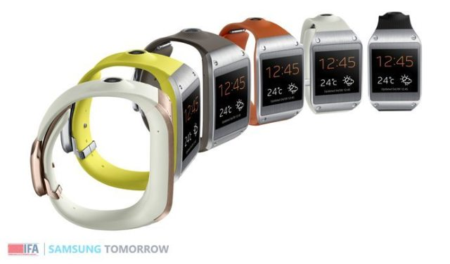 サムスンのスマート腕時計「GALAXY Gear」に LINEがアプリ提供【増田 @maskin】