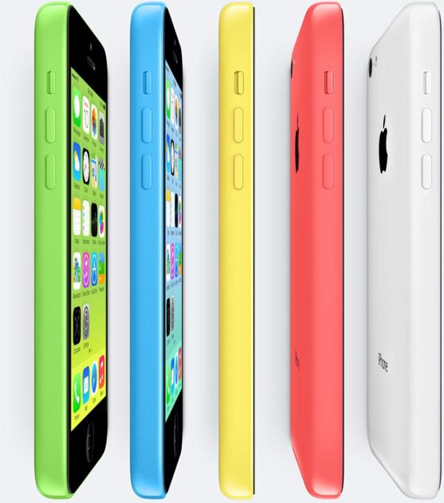 iPhone5c 登場、 5つのカラーで99ドルから【増田 @maskin】