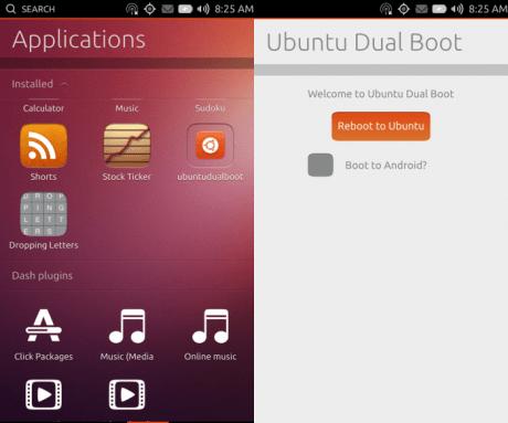 UbuntuとAndroidのデュアルブート、開発者プレビュー公開  【@maskin】
