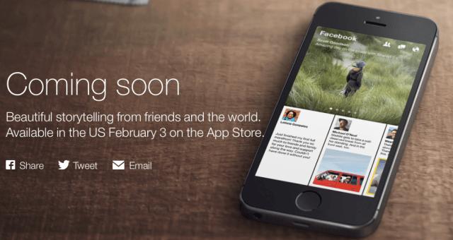 [速報] Facebookが2月3日に新iPhoneアプリPaperをリリース!【@MICKEYTACHIBANA】