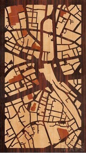 「Woodcut Maps」地図から美麗な手作り木版を作成しよう 【増田(@maskin)真樹】