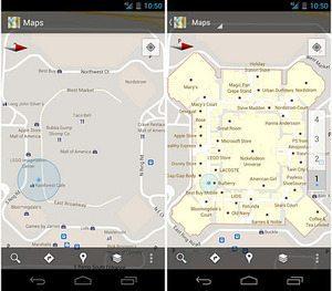 Google Map 屋内地図が米と日本でスタート【湯川】
