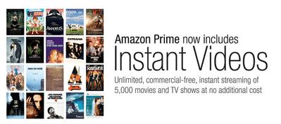 米Amazon、映画やTV番組を無料で視聴できるプライムユーザー向けサービスを開始【増田(@maskin)真樹】