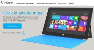「Surface」の詳細発表、499ドルから予約受付中 【増田 @maskin】