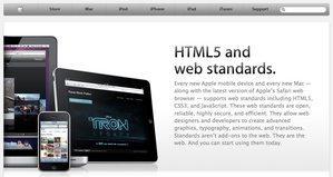 AppleがiPad/iPhoneでも見られるHTML5ショーケースを公開 (追記あり)【@maskin】