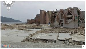Googleが3.11の被災地のストリートビューを公開【湯川】