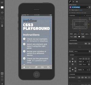 「WebFlow」レスポンシブウェブデザインを直感的に構築できる新サービス、間もなく登場 【増田 @maskin】