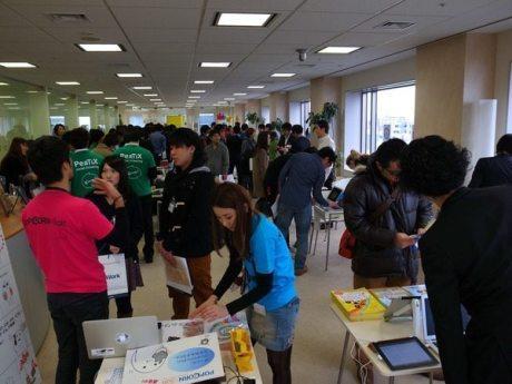 夢のような空間・・「アプリ博2012」は平日にもかかわらず1000人が来場&大盛況 【増田(@maskin)真樹】
