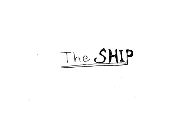 """絵本「The SHIP」  第一話 """"旅立ち"""""""