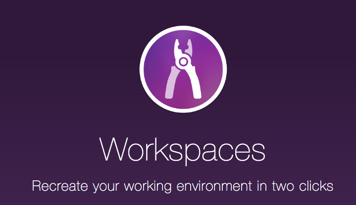 Mac上の作業環境を記憶/再生するアプリ「Workspaces」