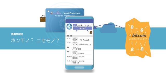 RFID(ICタグ)とブロックチェーンでブランド品の真贋判定、MANICAブランドプロテクション