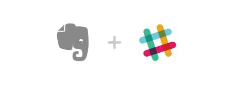 EvernoteがSlackと連携、ノートへの保存から検索&シェアまで完全対応