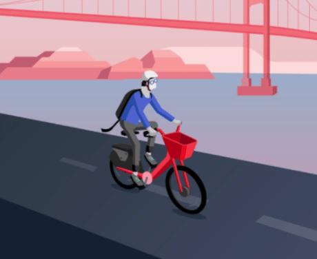 米ウーバーがシェアサイクル事業「Uber Bike」を開始