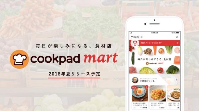 生鮮食品ネットスーパー「クックパッドマート」に取り組む意義、2018年夏スタート