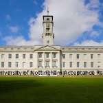 University of Nottingham Acceptance Rate