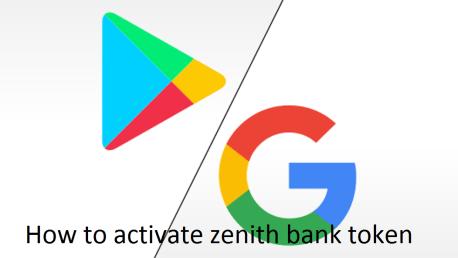 How to activate zenith bank token