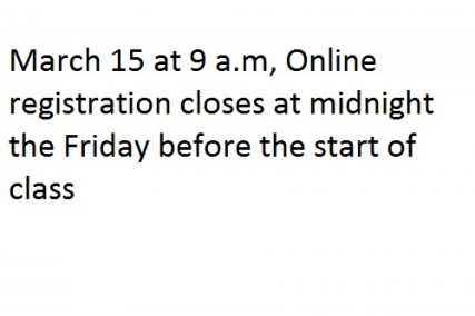 Dates For De Anza college summer classes Online Registration