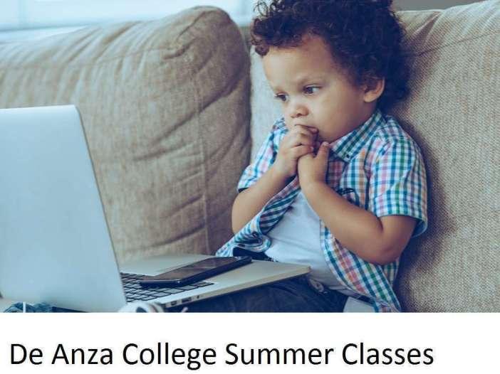 De Anza College Summer Classes