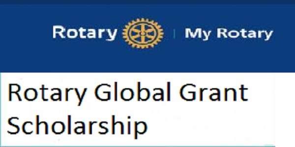 Rotary Global Grant Scholarship