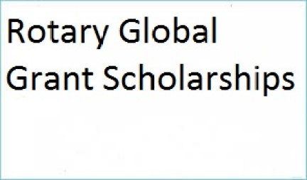 Rotary Global Grant Scholarships