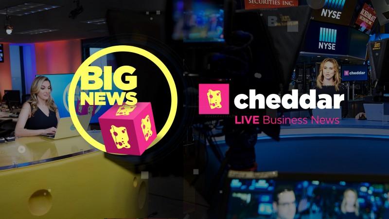 Cheddar news anchors