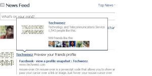 facebook preview profile