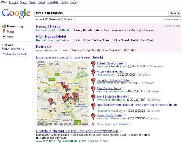 google mapa