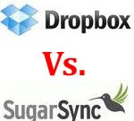 Dropbox Vs. SugarSync - Online File Storage Service Providers