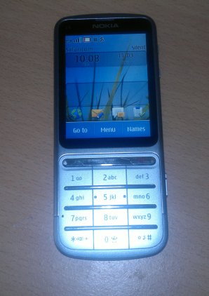 Nokia C3 touch and type, good phone, great price - Techweez