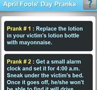 April Fools' Day Pranks