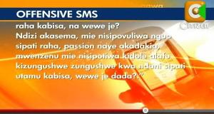 sms that could take you to court