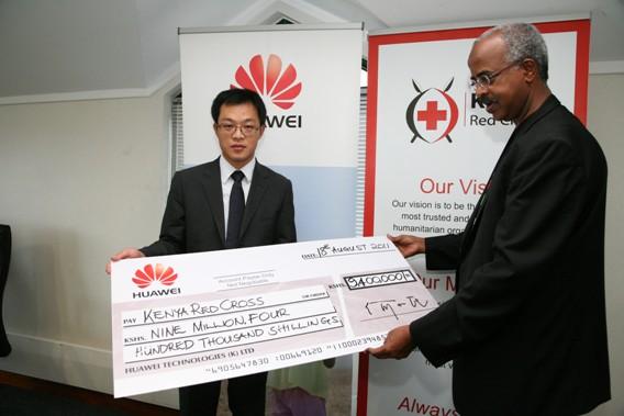 Huawei Kenyans for kenya initiative