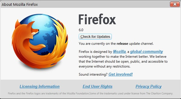 Firefox 6 final