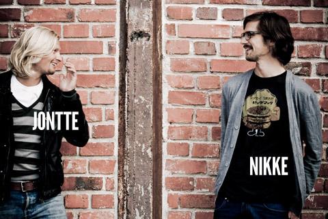 Jontte and Nikke