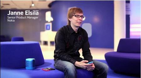 Janne Elsila Nokia N9 product Manager