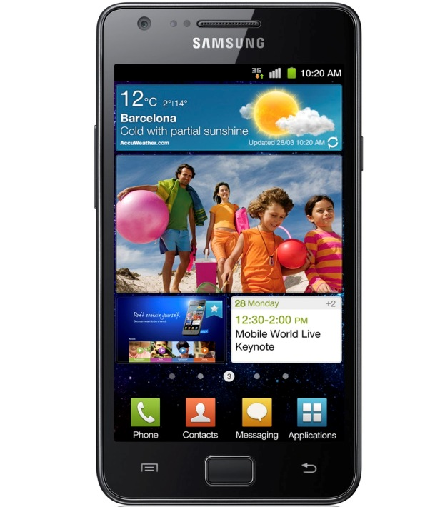 Samsung Galaxy S II 10 million