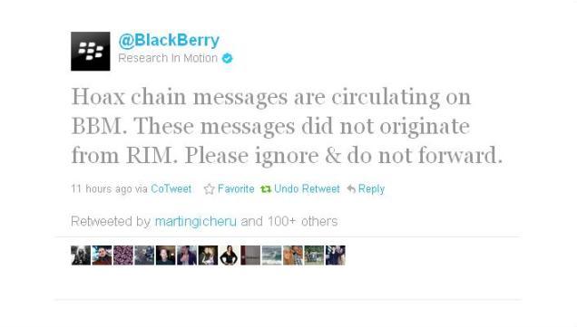 blackberry hoax messages