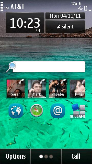 Nokia universal search