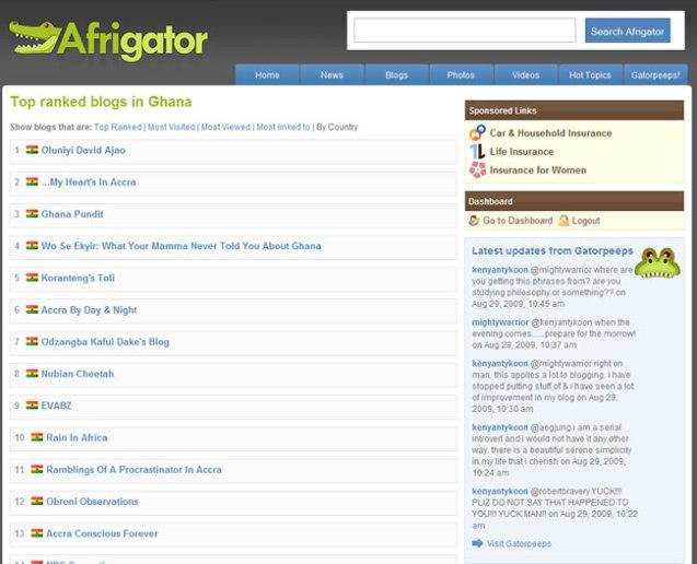 afrigator closed