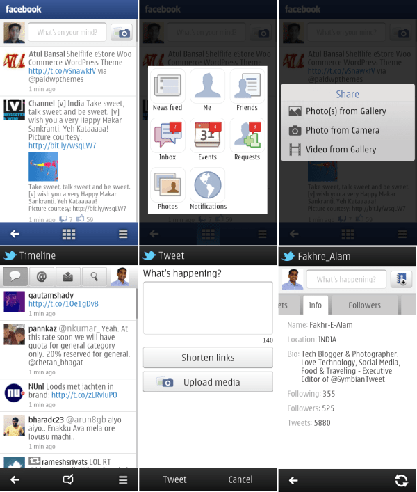 Nokia Social For Symbian Belle Updated To V1.4.481