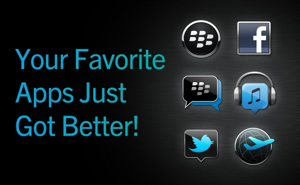 BlackBerry Messenger, Blackberry Connected Apps