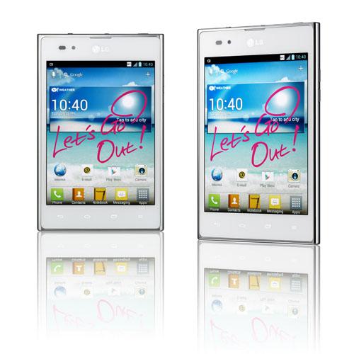 LG Optimus Vu white global