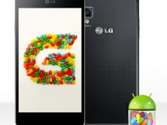 LG Optimus G Jelly Bean