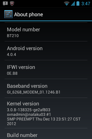 Intel Yolo ICS