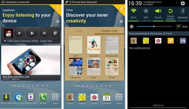 Galaxy Note II Page Buddy