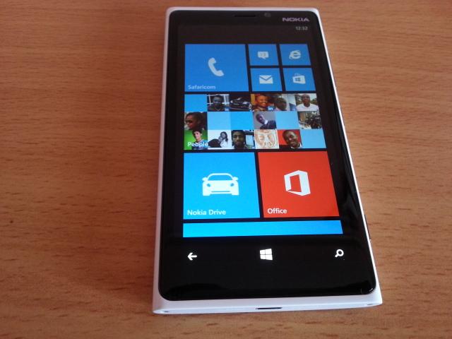 Nokia Lumia 920 home