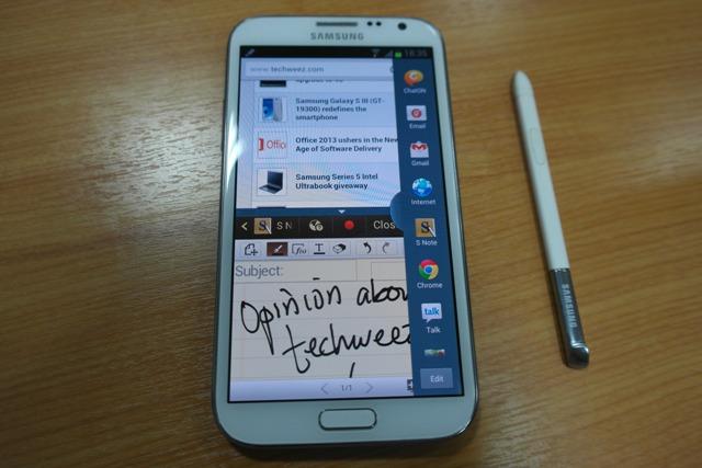 Galaxy Note II apps